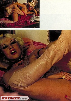 Elegant lady touching herself while on p - XXX Dessert - Picture 3