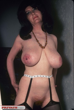 Classic chick with natural big boobs pos - XXX Dessert - Picture 11