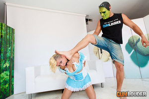 Horny masked man humiliating and jeering - XXX Dessert - Picture 2