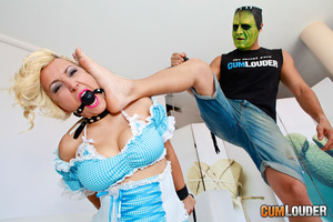 Horny masked man humiliating and jeering - XXX Dessert - Picture 3