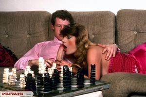 Classic chick changes chess for a good f - XXX Dessert - Picture 6
