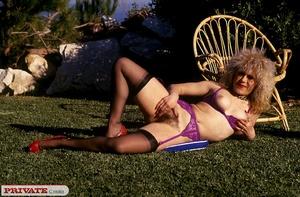Hot black babe having classic fun in a c - XXX Dessert - Picture 12