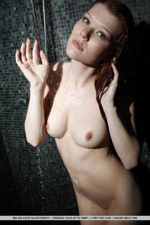 Tattooed redhead reveals perfect curves  - XXX Dessert - Picture 3