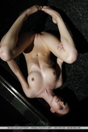 Tattooed redhead reveals perfect curves  - XXX Dessert - Picture 11