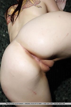 Tattooed redhead reveals perfect curves  - XXX Dessert - Picture 13