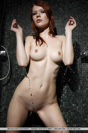 Tattooed redhead reveals perfect curves  - XXX Dessert - Picture 14