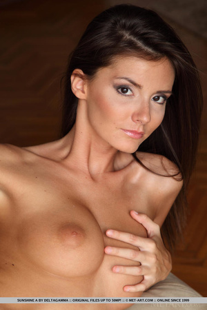 Sexy little english brunette gives a ful - XXX Dessert - Picture 18