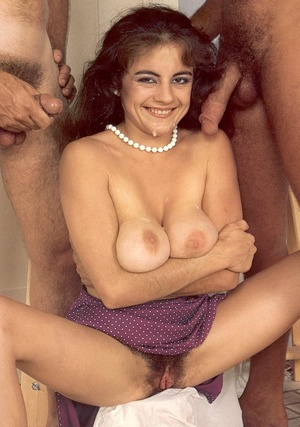 Big titted hairy eighties lady double st - XXX Dessert - Picture 14