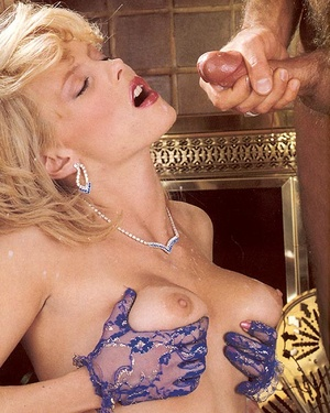 Classy eighties lady in blue stockings e - XXX Dessert - Picture 15