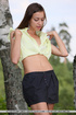 tantalizing slovenian girl splits
