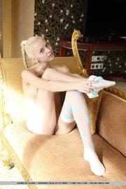 serbian teenage blonde models