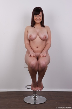 Plump chick with a cute face shows off h - XXX Dessert - Picture 18
