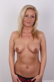 well shaped matured blonde
