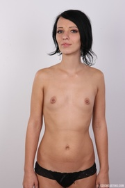 cute and slender model