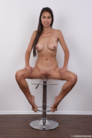 Fill breasted sweet slender girl shows t - XXX Dessert - Picture 24