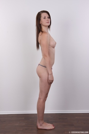 Hot looking young brunette shows tits wi - XXX Dessert - Picture 9