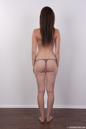 Hot looking young brunette shows tits wi - XXX Dessert - Picture 10