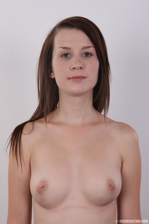 Hot looking young brunette shows tits wi - XXX Dessert - Picture 12