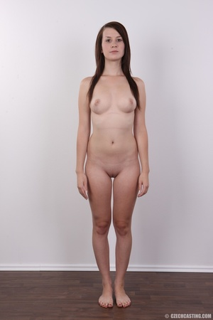 Hot looking young brunette shows tits wi - XXX Dessert - Picture 15