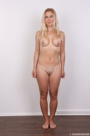 Naughty blonde lady with blue eyes shows - XXX Dessert - Picture 13