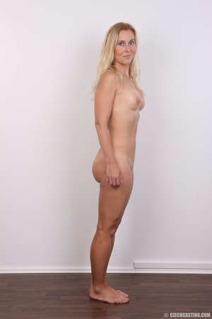 Naughty blonde lady with blue eyes shows - XXX Dessert - Picture 14