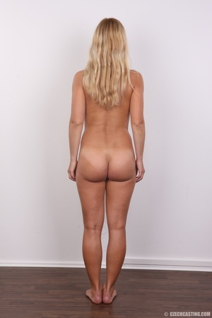Naughty blonde lady with blue eyes shows - XXX Dessert - Picture 15