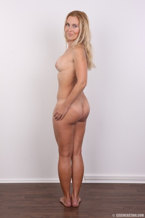 Naughty blonde lady with blue eyes shows - XXX Dessert - Picture 16