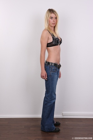 Tall, slim and sexy blonde shows it all  - XXX Dessert - Picture 5