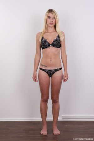 Tall, slim and sexy blonde shows it all  - XXX Dessert - Picture 7
