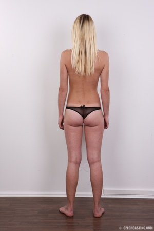 Tall, slim and sexy blonde shows it all  - XXX Dessert - Picture 10