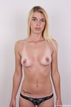 Tall, slim and sexy blonde shows it all  - XXX Dessert - Picture 11
