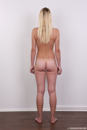 Tall, slim and sexy blonde shows it all  - XXX Dessert - Picture 16