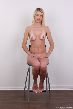 Tall, slim and sexy blonde shows it all  - XXX Dessert - Picture 17