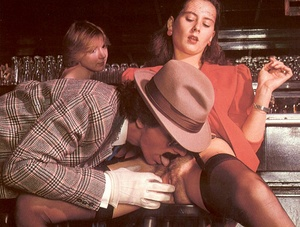 Seventies mobster and two ladies going w - XXX Dessert - Picture 5