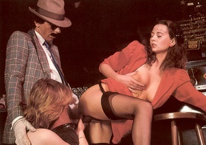 Seventies mobster and two ladies going w - XXX Dessert - Picture 8