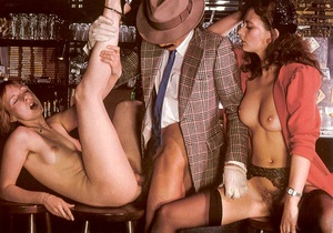 Seventies mobster and two ladies going w - XXX Dessert - Picture 12
