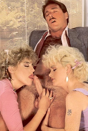 Catching two hairy lesbo retro students  - XXX Dessert - Picture 9
