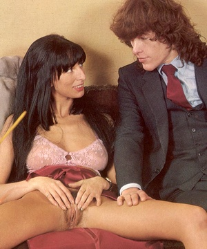 Two hairy seventies ladies shagged after - XXX Dessert - Picture 6