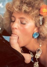 classy seventies lady enjoys