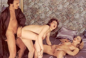 Horny old senior shagging two hairy seve - XXX Dessert - Picture 15