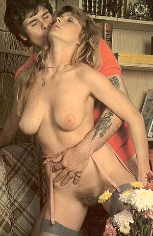 Big titted seventies lady enjoying two b - XXX Dessert - Picture 2