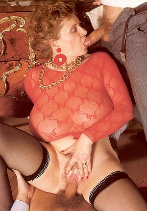 Insane huge retro mellons creamed with a - XXX Dessert - Picture 7