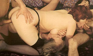 Hairy seventies lady loves to please thr - XXX Dessert - Picture 6