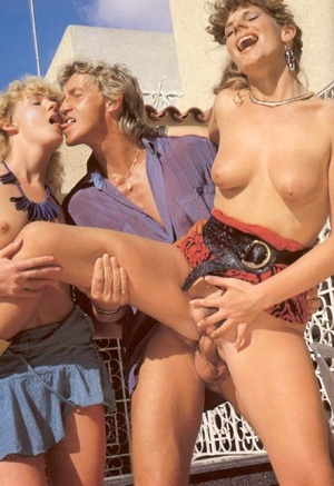 Two shaved and sexy eighties slutties fu - XXX Dessert - Picture 13