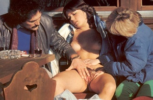 Two naughty seventies ladies pleasing a  - XXX Dessert - Picture 7