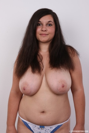 Sexy and chubby chick gets naughty to sh - XXX Dessert - Picture 10