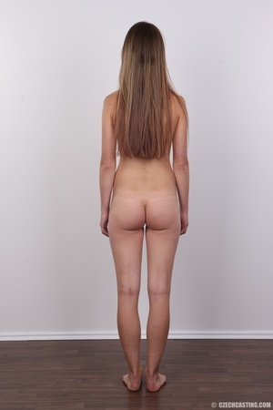 Tall, slim and sexy brunette shows cute  - XXX Dessert - Picture 17