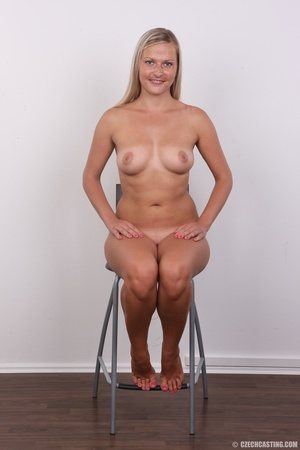 Plump blonde with cute eyes and sexy sha - XXX Dessert - Picture 18