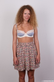 curly hair chick with