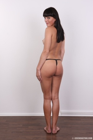 Wild and sexy black hair chick shows hot - XXX Dessert - Picture 6